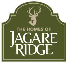 The Homes of Jagare Ridge logo. A brand new, upscale community located in Edmonton, Alberta.